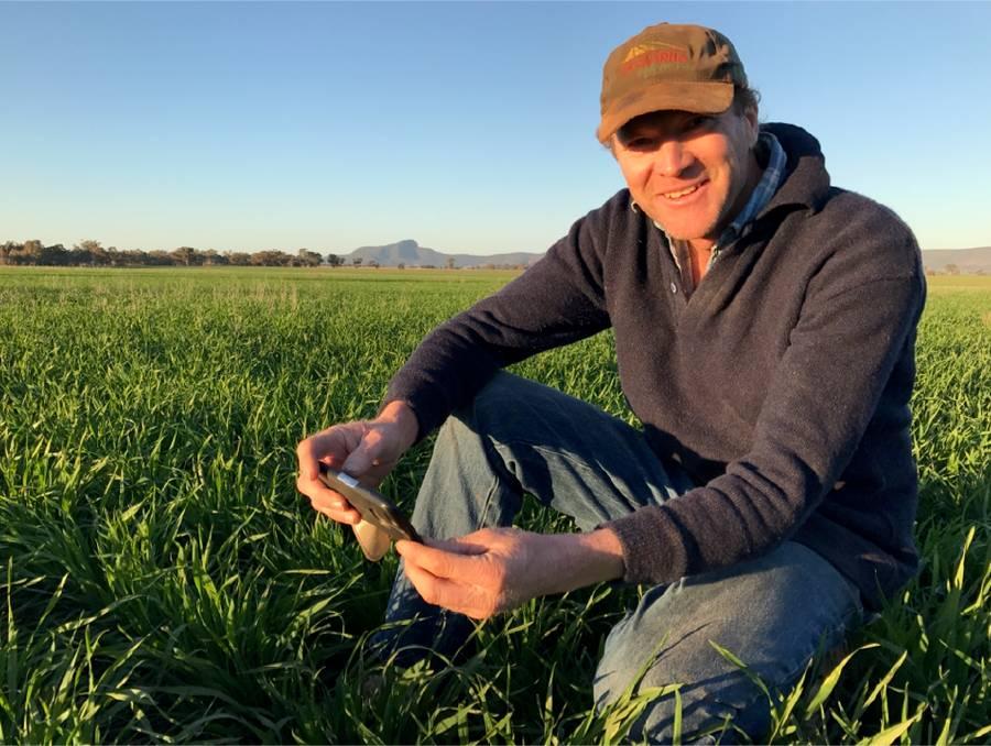 Warrick Holding NSW Farmer